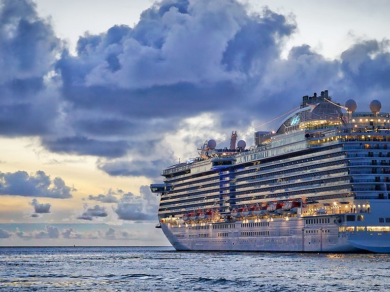 No insurance for man who skipped flight to make cruise image
